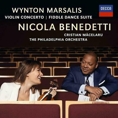 NICOLA BENEDETTI & WYNTON MARSALIS VIOLIN CONCERTO CD (Released July 12th 2019)