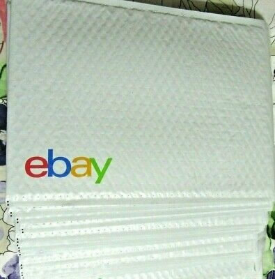"10 LARGE EBay Branded Airjacket Envelopes Padded Bubble Mailer LOT 9.5"" x 13.25"""