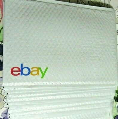 "15 LARGE EBay Branded Airjacket Envelopes Padded Bubble Mailer LOT 9.5"" x 13.25"""