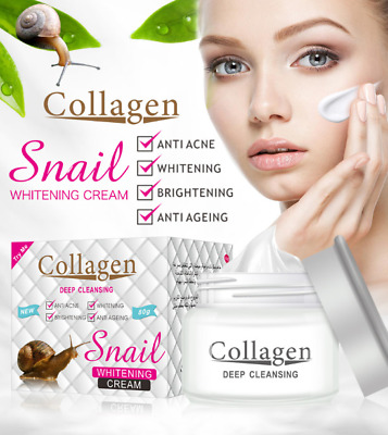 Powerful Multi Effect Snail Essence Cream Collagen Eliminates wrinkles Remove Ac