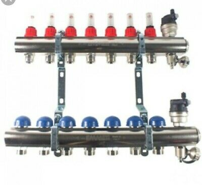 7 port UNDERFLOOR HEATING MANIFOLD  EMMETI