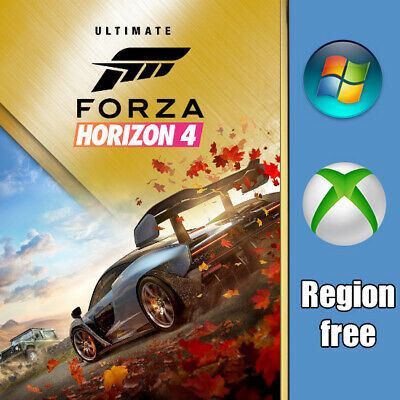 Forza Horizon 4 [PC, Xbox] Activation Full game + All DLC includes [Region free]