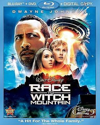 Race To Witch Mountain Blu Ray DVD + Digital Copy NEW SHIPS FREE USA