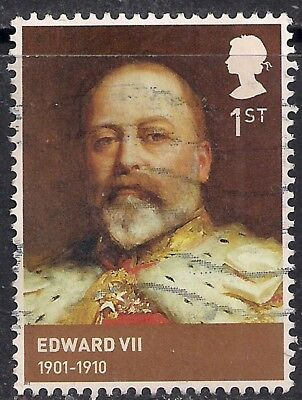 GB 2012 QE2 1st Class Kings & Queens House of Windsor used stamp SG 3265 ( E1136