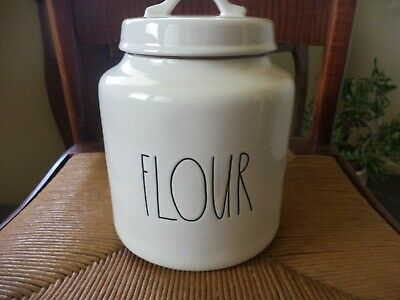 Rae Dunn Magenta Artisan Collection  Pottery Flour Canister NEW