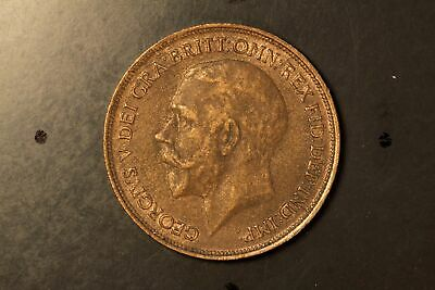 George v one penny 1918