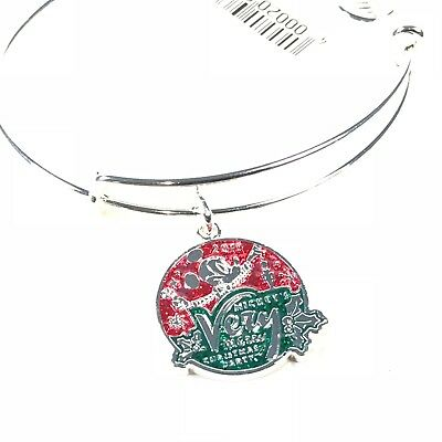 Disney Parks Mickey's Very Merry Christmas Party 2018 Alex and Ani Bracelet