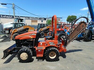 2014 Ditch Witch Rt45 Riding Trencher - Only 868 Hours - Diesel - Best Deal