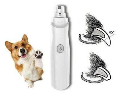 Pro Premium Electric Pet Nail Grinder Paws Grooming Trimmer Dog Cat Clipper Tool