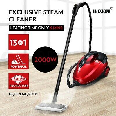 Maxkon 13-in-1 Steam Cleaner Mop High Pressure Floor Window Carpet Cleaning New