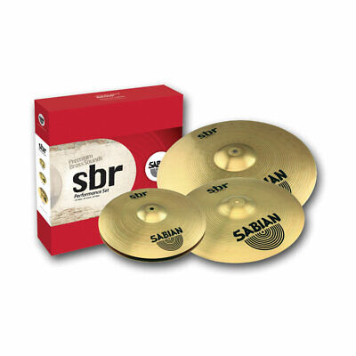 SABIAN SBR Performance Cymbal Set Drums NEW FREE SHIPPING