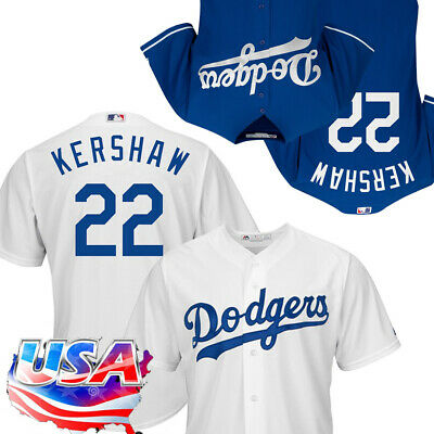 f5a19318 Men's Los Angeles Dodgers Clayton Kershaw Majestic Royal Cool Base Jersey