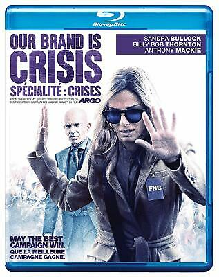 Our Brand Is Crisis (Blu-ray/DVD, 2016, 2-Disc Set, Canadian Bilingual)