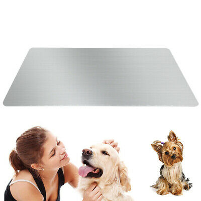 30*20cm Pet Dog Cat Cooling Mat Bed Summer Heat Relief Safe Cushion Pad Plate