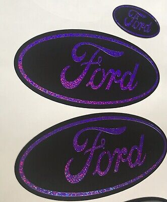 Ford Focus RS ST MK2  3 X Gel Overlay Badges All Models And Colours
