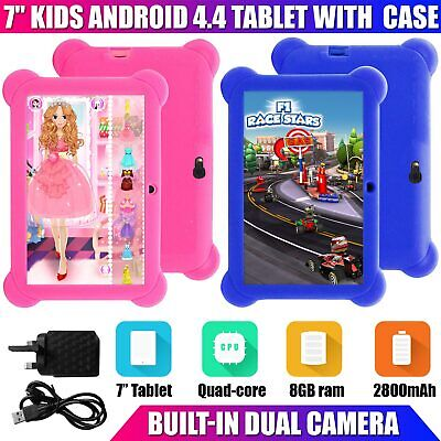 7? Inch Kids Android 4.4 Tablet Pc Quad Core with Wifi Camera and Games