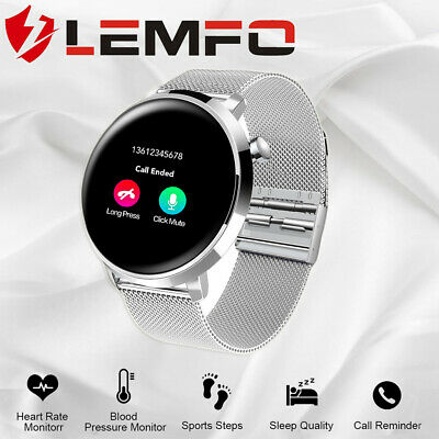 2019 LEMFO L6 Smart Watch IP68 Waterproof Full Screen Touch Heart Rate Android