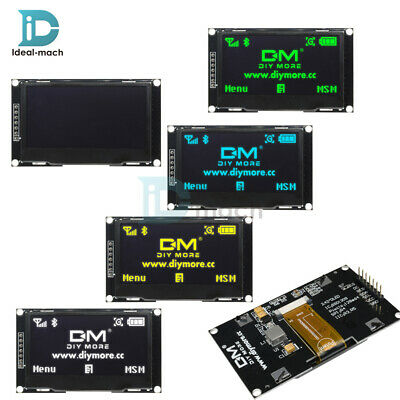 "2.42"" inch OLED Display SSD1309 128x64 SPI Serial Port Blue/Green/Yellow/White"