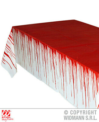 Tablecloth Bloody Hand Prints Halloween Party Decoration 137cm x 274cm