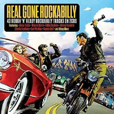 Real Gone Rockabilly 2-CD NEW SEALED Vince Taylor/Warren Smith/Carl Perkins+