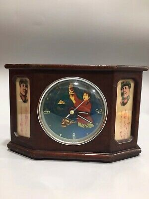 Chinese During Cultural Revolution Mechanical clock table Home decoration C