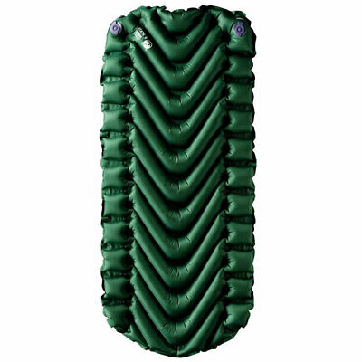 NAVY NEW KLYMIT STATIC V LIGHTWEIGHT BACKPACKING INFLATABLE CAMP SLEEPING PAD