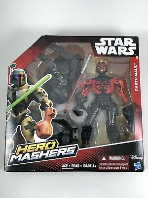 Star Wars Hero Mashers Deluxe Darth Maul Buildable Action Figure - New