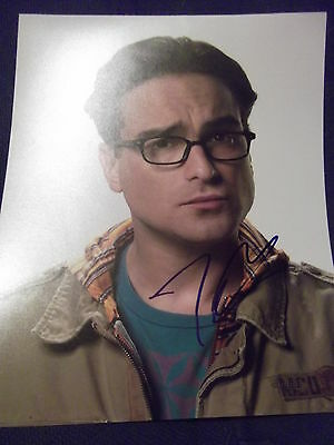 The Big Bang Theory JOHNNY GALECKI hand signed photo UACC registered purchase