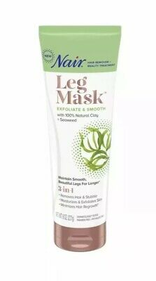 Nair Leg Mask Exfoliate and Smooth with Seaweed - 8 oz