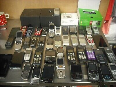 Mobile phone job lot, over 40 phones untested