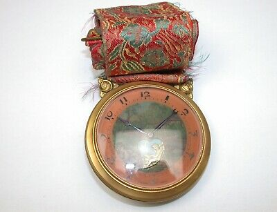 Swiss Rare Hanging Automaton 8-Day 75 MM Clock/Watch. 46M