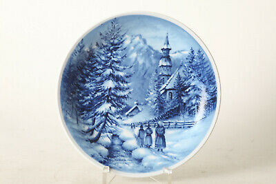 Seltmann Weiden Collection Plate Christmas 80,Winter in Tirol,Ø Ca 19cm (124389)