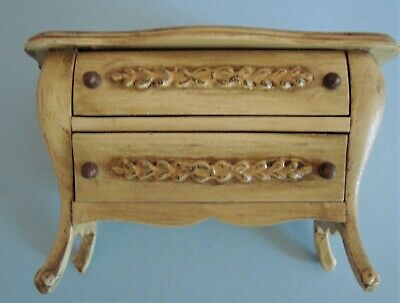 Vintage Sonia Messer Doll House Miniature French Provincial Chest