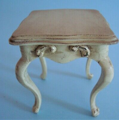 Vintage Sonia Messer Doll House Miniature French Provincial Square Table