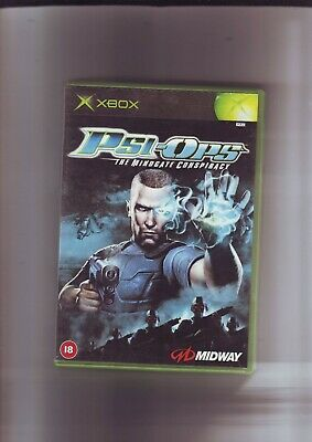 Psi-Ops : The Mindgate Conspiracy - Microsoft Xbox Game - Original & Complete