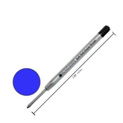 Monteverde Parker-Style Capless Blue-Black Fine Point Ceramic Gel Refill P421BB