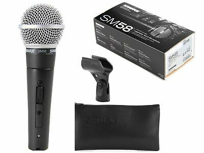 Shure SM58S Dynamic Microphone with On/Off Switch