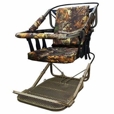 Tree Stand Climber Climbing Hunting Deer Bow Game Hunt Portable wHarness 300lb