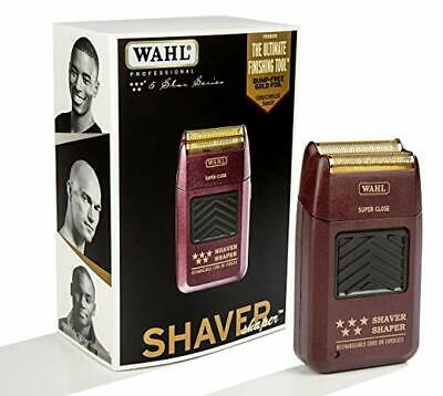 Wahl 5 Star Professional Shaver Shaper Cordless Bump Free #8061