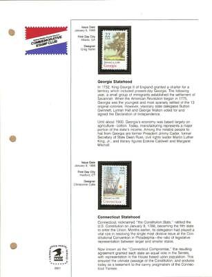 1988 Year Set - USPS COMMEMORATIVE STAMP CLUB  - 40 MNH Stamps - Please Read
