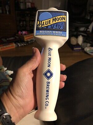 Blue Moon Belgian White Tap Handle Free Shipping