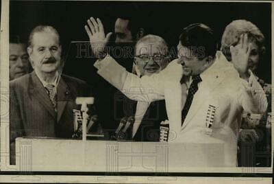 1972 Press Photo Governor Ronald Reagan and officials at Republican Convention