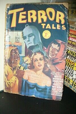 Terror Tales Uk Pulp Magazine Jan 1941  [1 Issues]