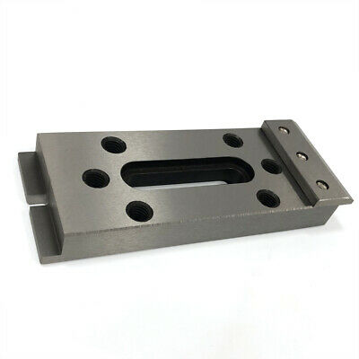 2*Wire EDM Fixture Board Stainless Jig Tool For Clamping&Leveling 120x50x15mm US