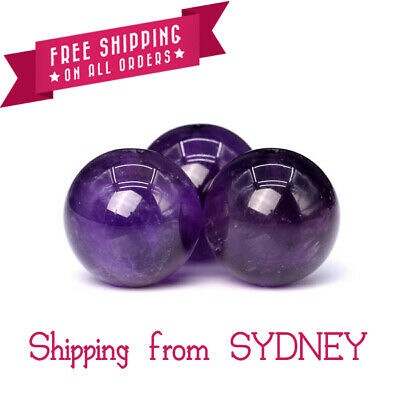 Natural Stone Purple Amethyst Round Loose Beads 6mm/8mm/10mm