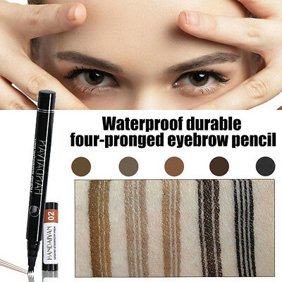 HANDAIYAN Microblading Eyebrow Tattoo Pen Fork Tip Sketch Makeup Ink Waterproof