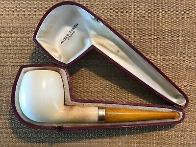 Extra Rare Dunhill Block Meerschaum Pipe, Gold Band, From 40'S!!!