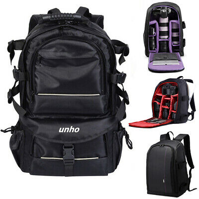 Extra Large Waterproof Camera Backpack Rucksack Case Bag Essential SLR Photo Bag