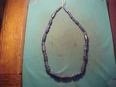 SPECIAL OFFER.!! String of  ancient Roman  Lapis Lazuli  beads circa 200-400 AD.