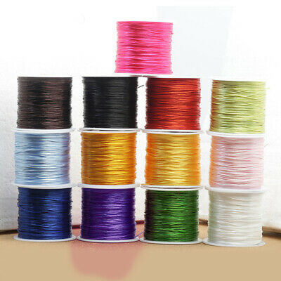 1 Reel 80m Leather sewing waxed thread wax  0.6mm NEW-